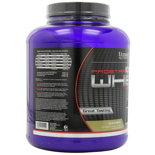 Ultimate nutrition prostar whey natural